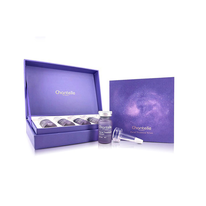 Chantelle 香娜露兒 植物干細胞反重力精華液 6支*8ml 粉紫精華