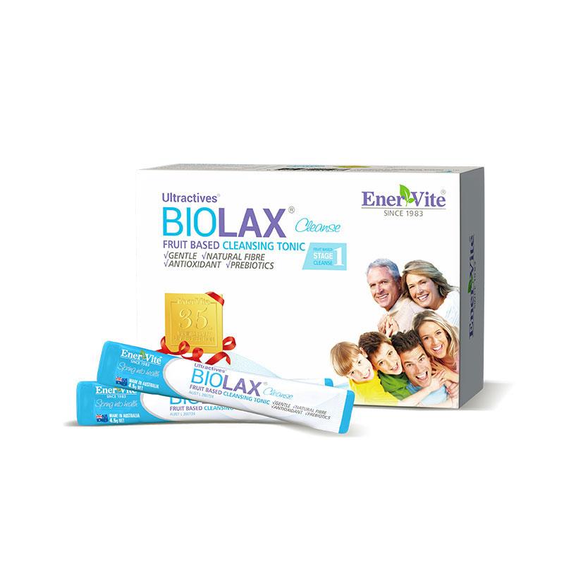 EnerVite 澳樂維他 Biolax 通潤百麗仕 排毒潤腸版 4.5g*15袋