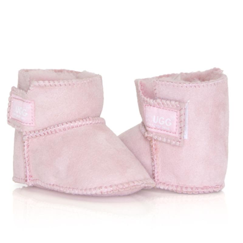 Everugg 寶寶短靴 粉色(不防水)