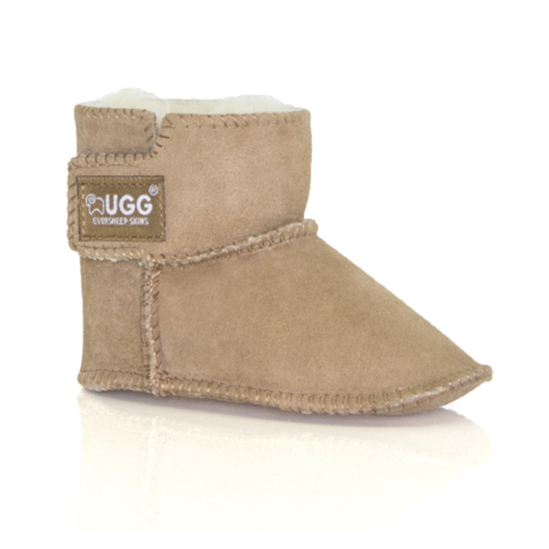 Everugg 寶寶短靴 栗色(不防水)