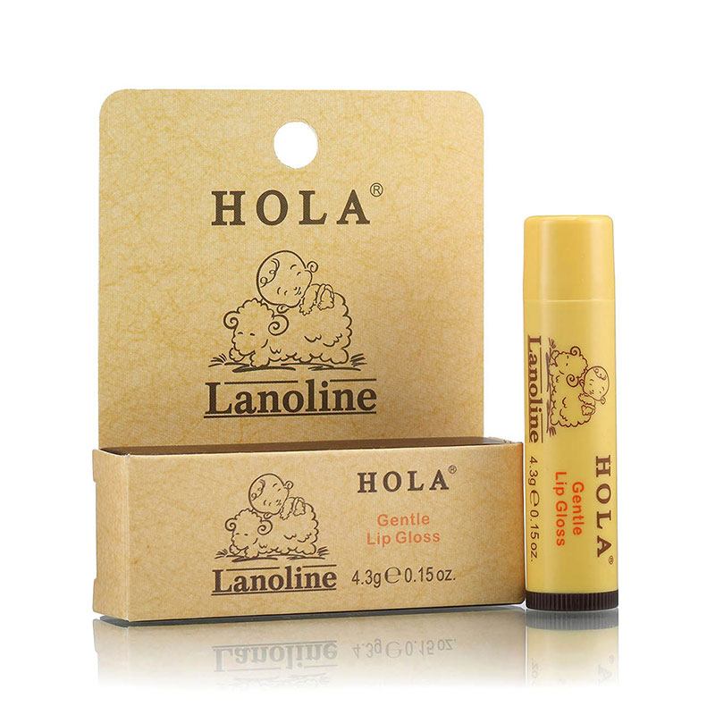 Hola 赫拉 綿羊油溫和潤唇膏 香草味 4.3g
