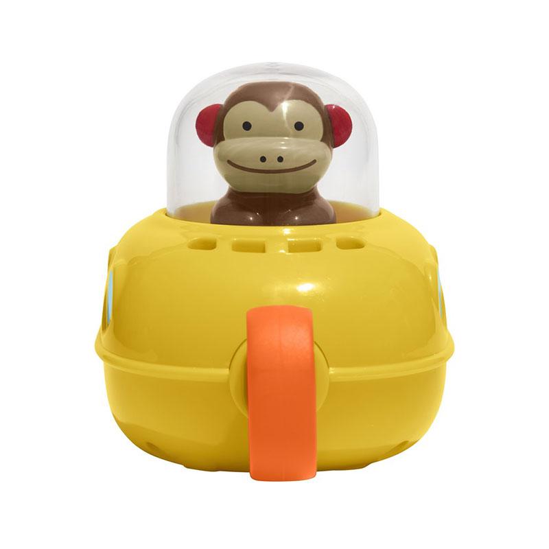 Skip Hop 可愛動物園猴子潛水艇沐浴玩具 0.5