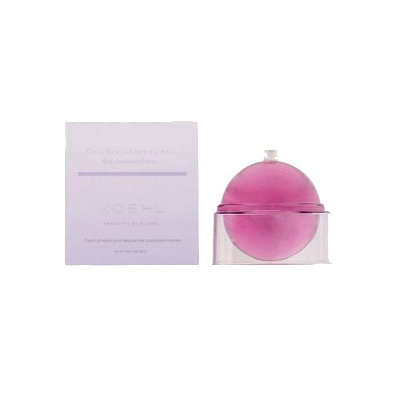 Koehl 晶彩煥顏水晶潔面球 115g 藍花楹精華(紫色)魔法龍珠