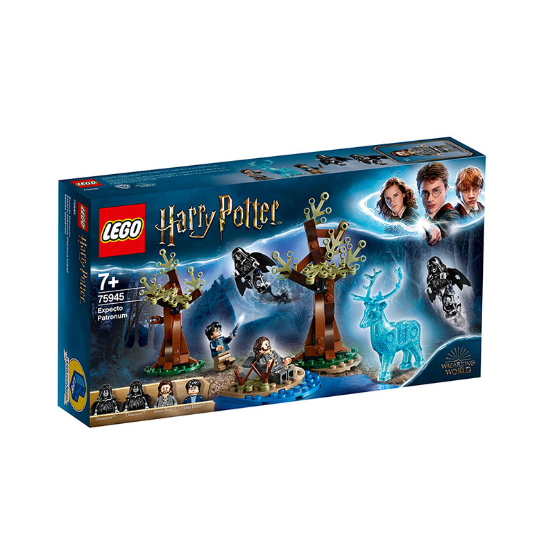 LEGO 樂高 哈利波特系列 疾疾護法現身75945