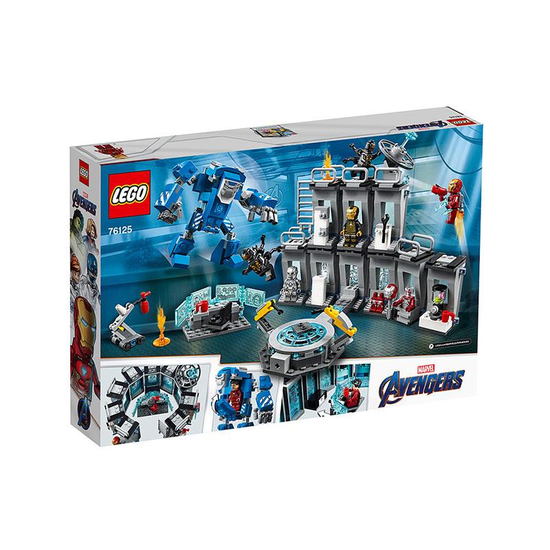 LEGO 樂高 復仇者聯盟 鋼鐵俠機甲陳列室76125