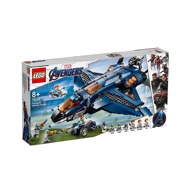 LEGO 樂高 復仇者聯盟 昆式戰斗機(決戰版)76126