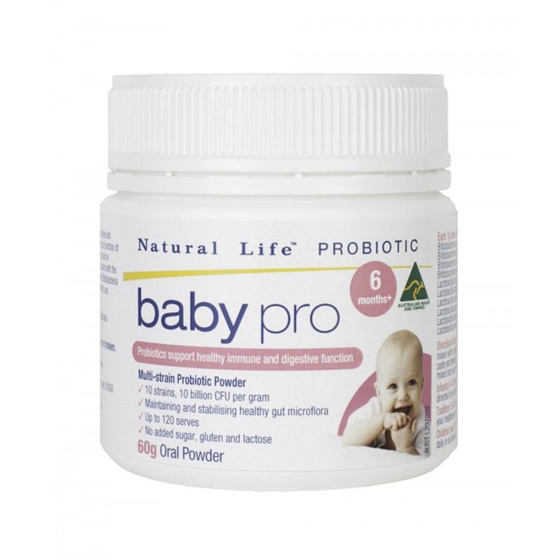 Natural life 嬰兒益生菌粉 60g 適合6個月以上寶寶