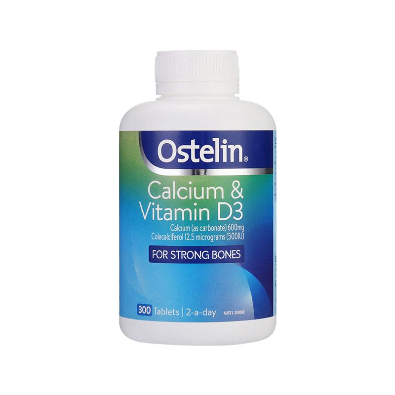 Ostelin 奧斯特林 鈣片+維生素D 300片