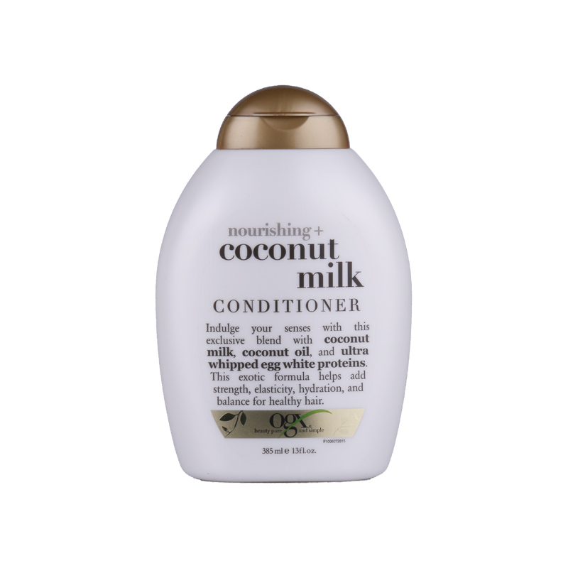 OGX 椰奶滋養護發素 385ml 撫平干枯毛躁修復受損