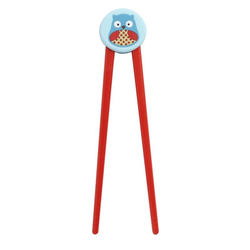 skip hop 可爱动物园筷子 宝宝练习辅助筷子