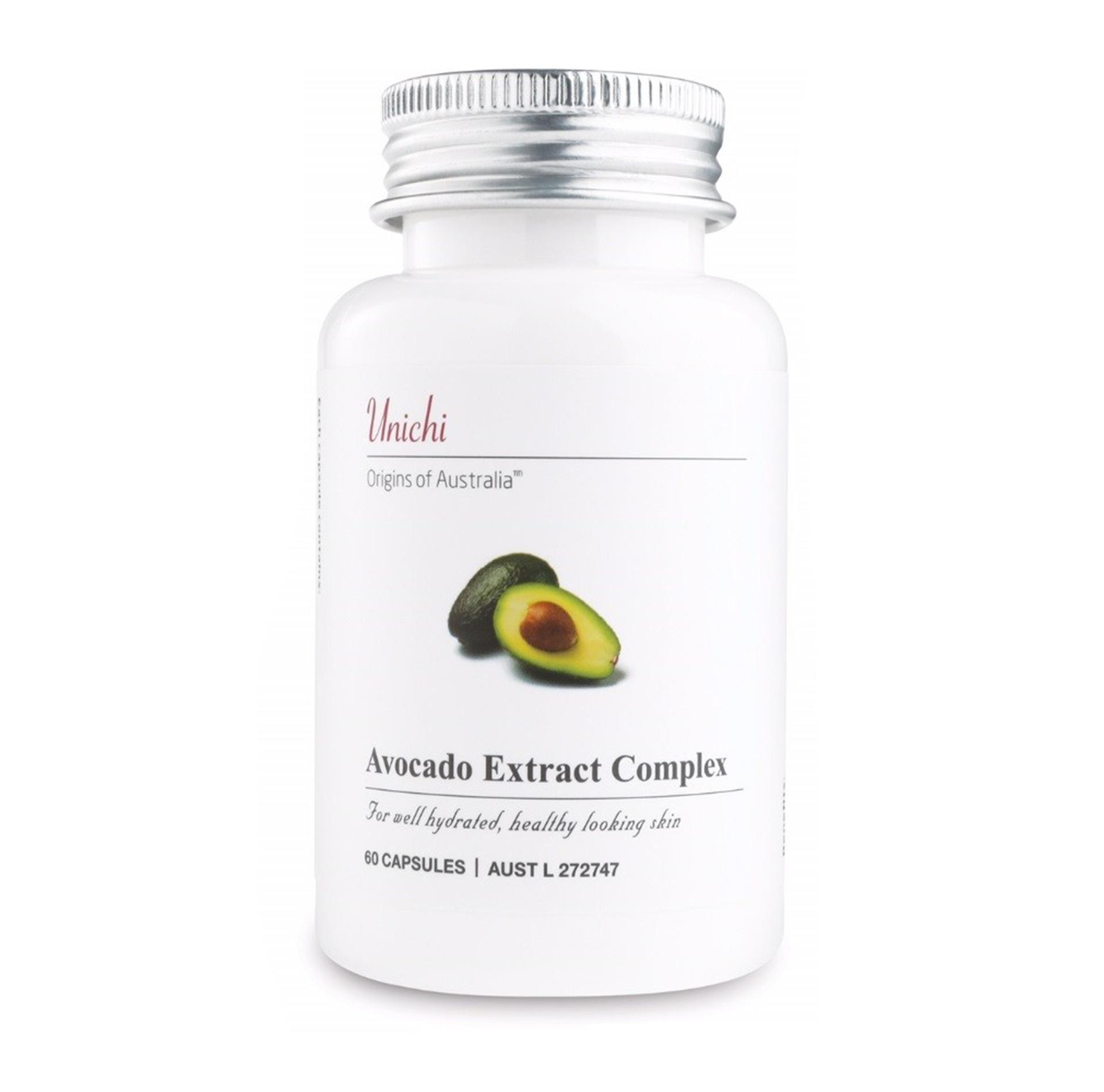 unichi 牛油果精華膠囊 60粒 抗氧化 保護心血管