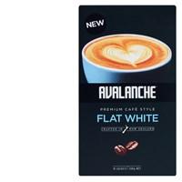 Avalanche 天然有機白咖啡 速溶咖啡10小包 140g