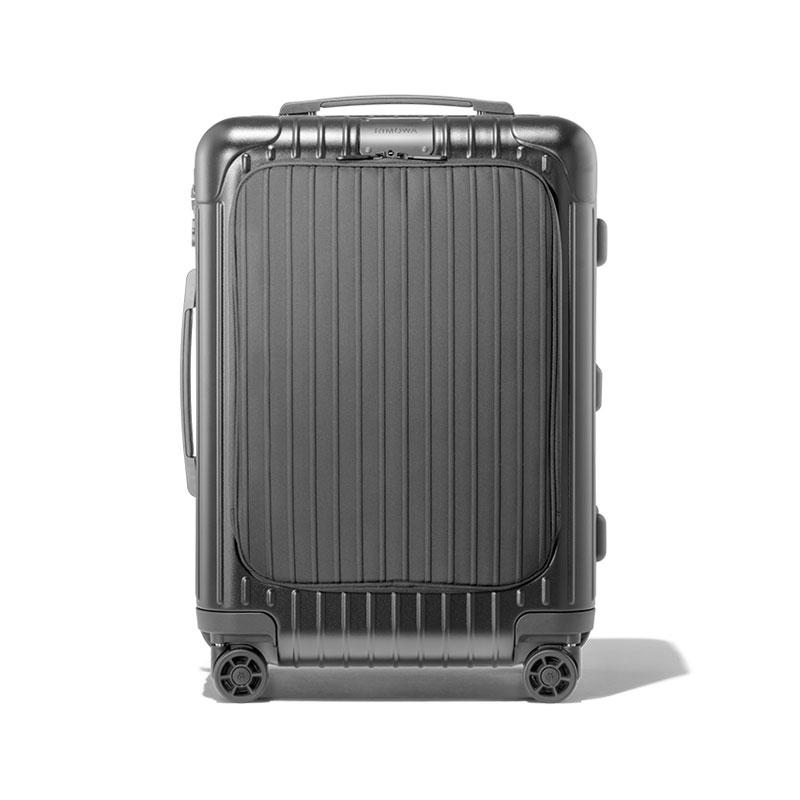 Rimowa 日默瓦 EssencialSleeve系列 塑膠拉桿行李箱 21寸 磨砂黑