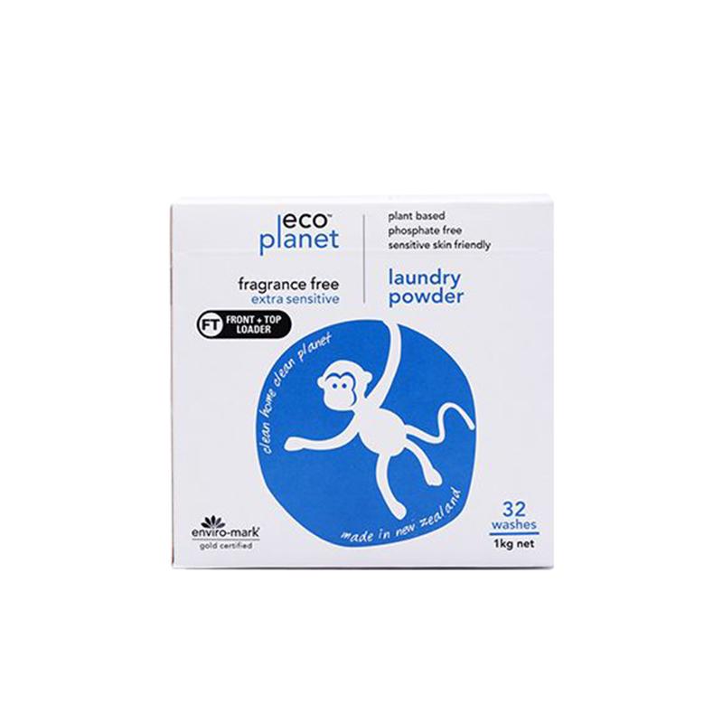 Eco Planet 洗衣粉 1公斤 無香味