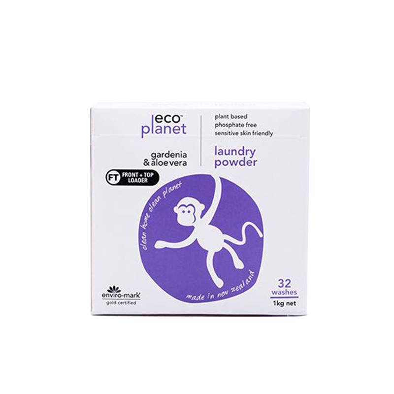 Eco Planet 洗衣粉 芦荟/栀子花味 1kg