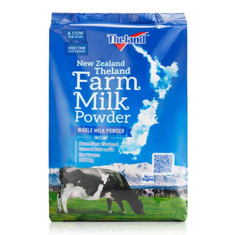 紐仕蘭 Theland 高鈣全脂成人奶粉 1kg*6袋 (程光物流)