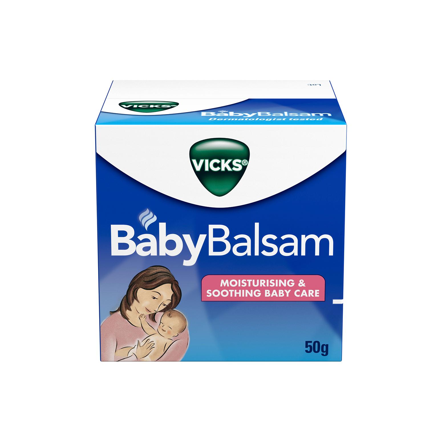 Vicks 寶寶通鼻舒緩膏 50g 緩解咳嗽