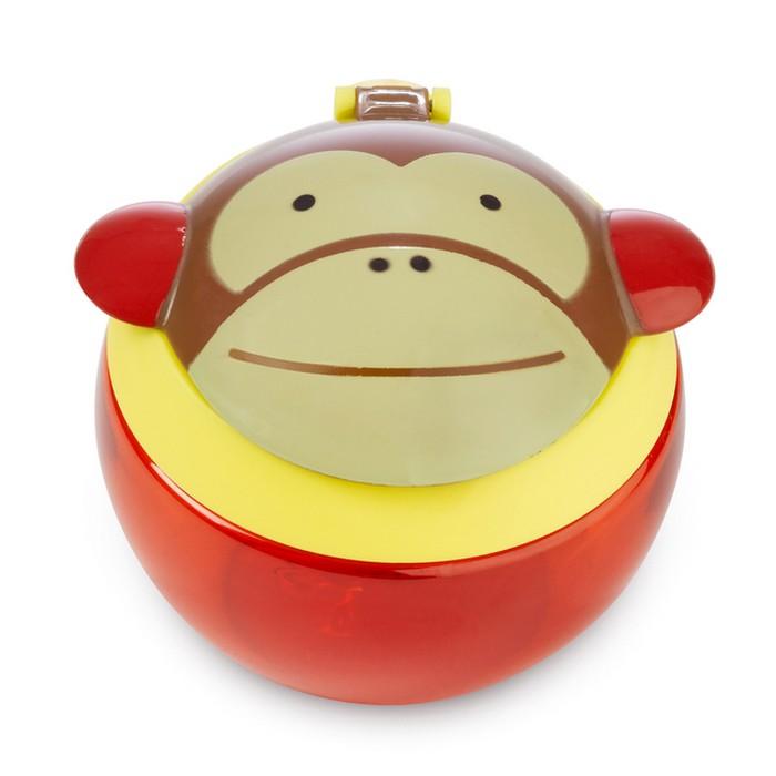 Skip Hop 動物款兒童零食杯-猴子