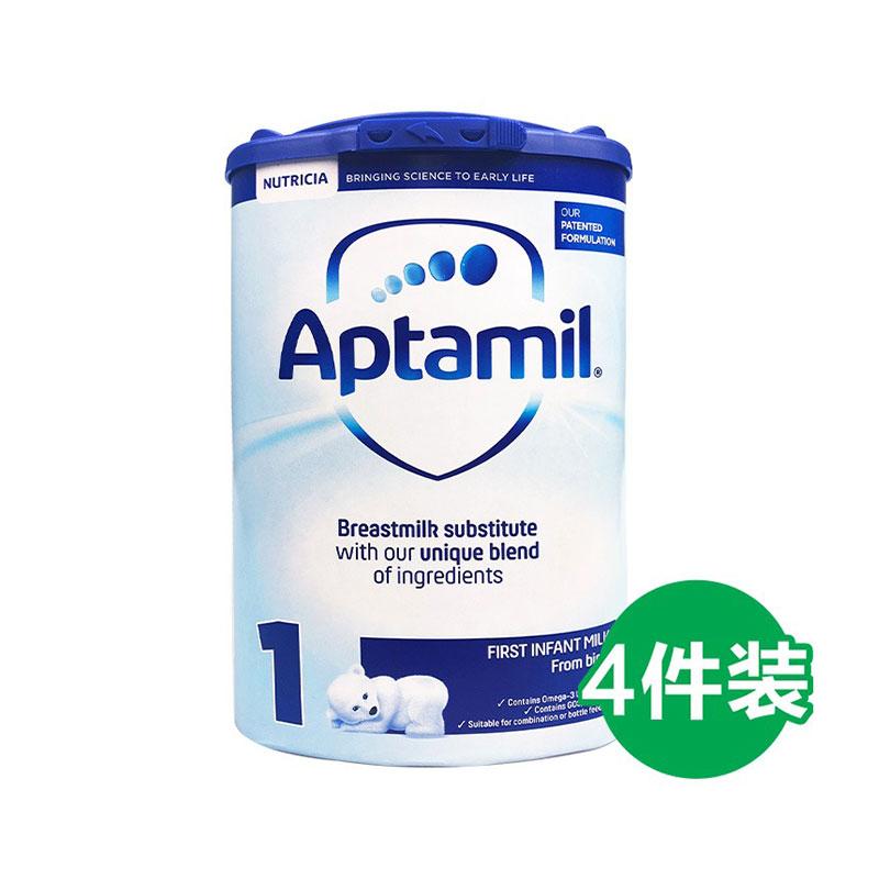 Aptamil 愛他美 嬰兒配方奶粉 1段 800g*4罐 0-6個月