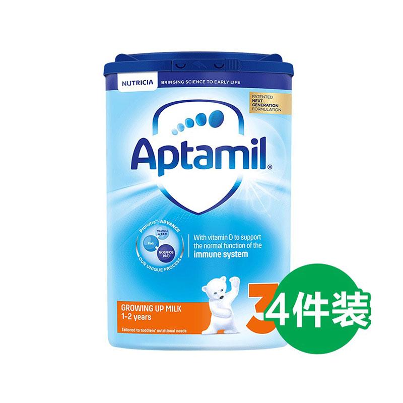 Aptamil 愛他美 嬰兒配方奶粉 3段 800g*4罐 1歲+
