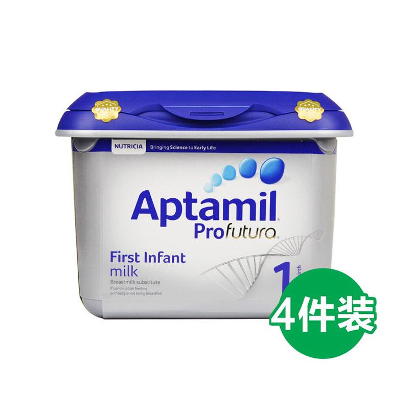 Aptamil 愛他美 白金版嬰幼兒奶粉 1段 800g*4罐  0-6個月