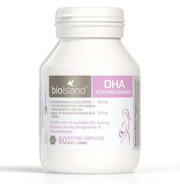 bioisland 孕婦海藻油 DHA 60粒