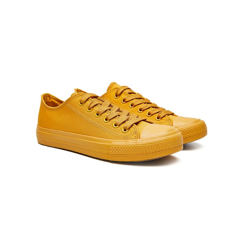 Tarramarra 純色系明星帆布鞋 816002 姜黃色 偏大一碼