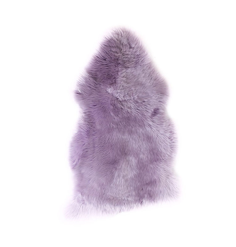 LITTLE AUSSIE 澳大利亞羊皮毯 香芋紫