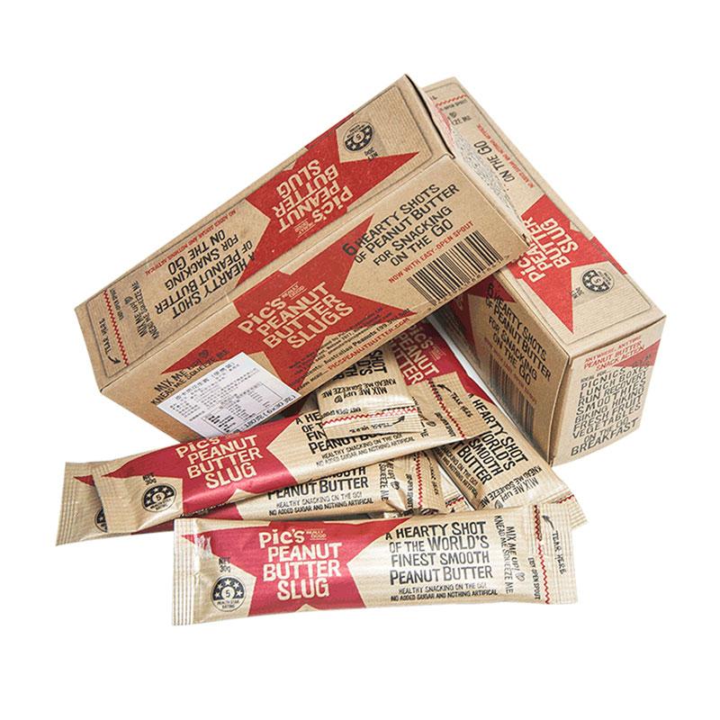 Pic's 皮卡思 有鹽幼滑花生醬便攜條盒裝 6*30g*2盒