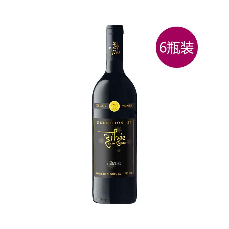 zilzie 紳士 金鹿23紅葡萄酒 750ml 6支裝