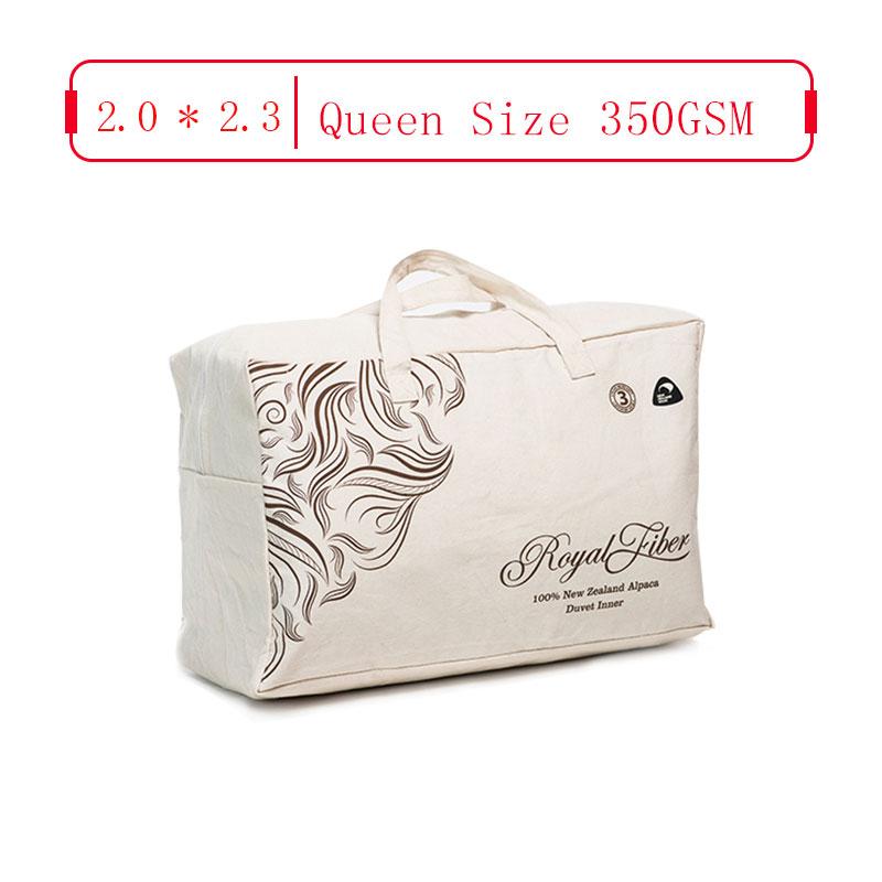 Royal Fiber 春秋駝羊被 350GSM 防雨面料  Chinese Queen 2.0*2.3