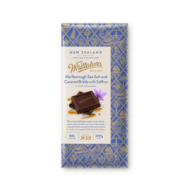Whittakers 惠特克 海鹽焦糖味巧克力 100g