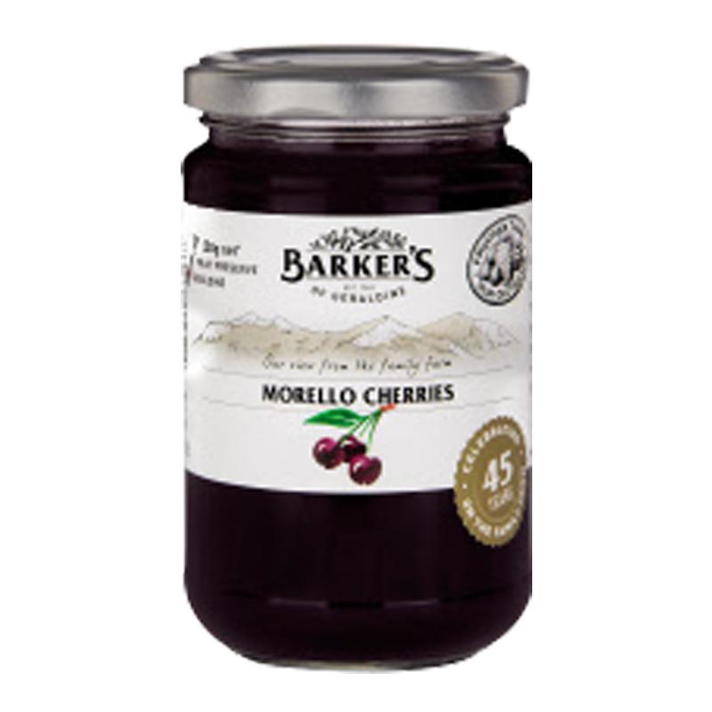 Barkers 莫利洛黑櫻桃果醬 350克