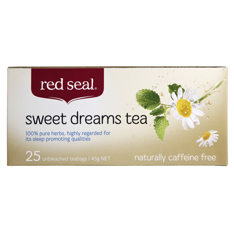 Red Seal 紅印 天然有機甜夢茶 25包 天然不含咖啡因