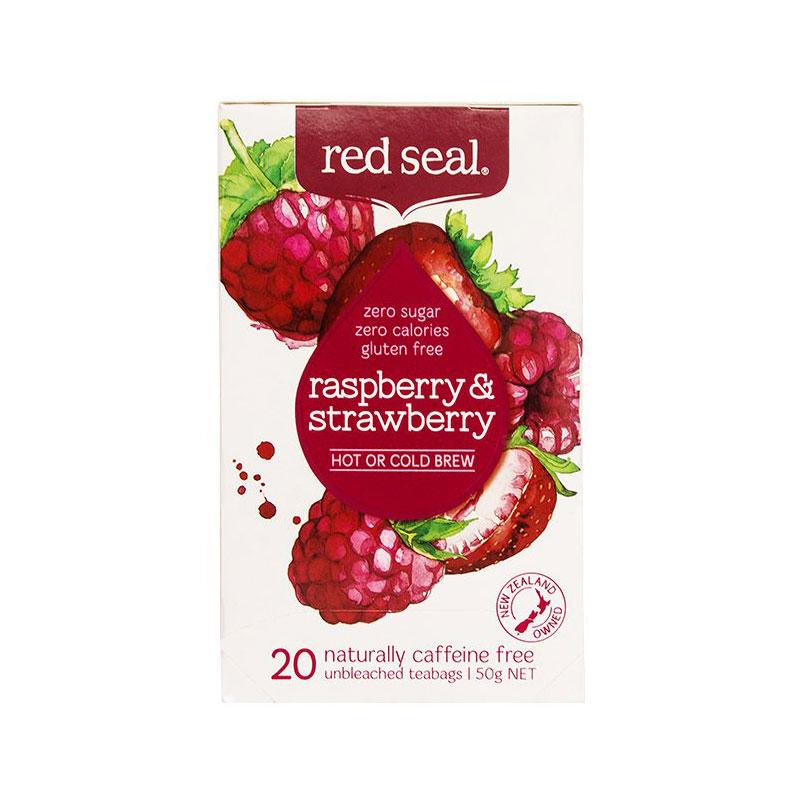 RED SEAL 紅印 天然有機覆盆子草莓茶 20袋 無糖分卡路里