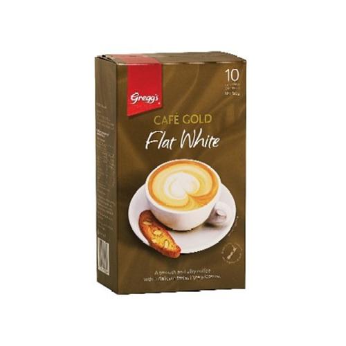 Greggs 金牌速溶咖啡白咖啡 10條150g 特濃奶香咖啡