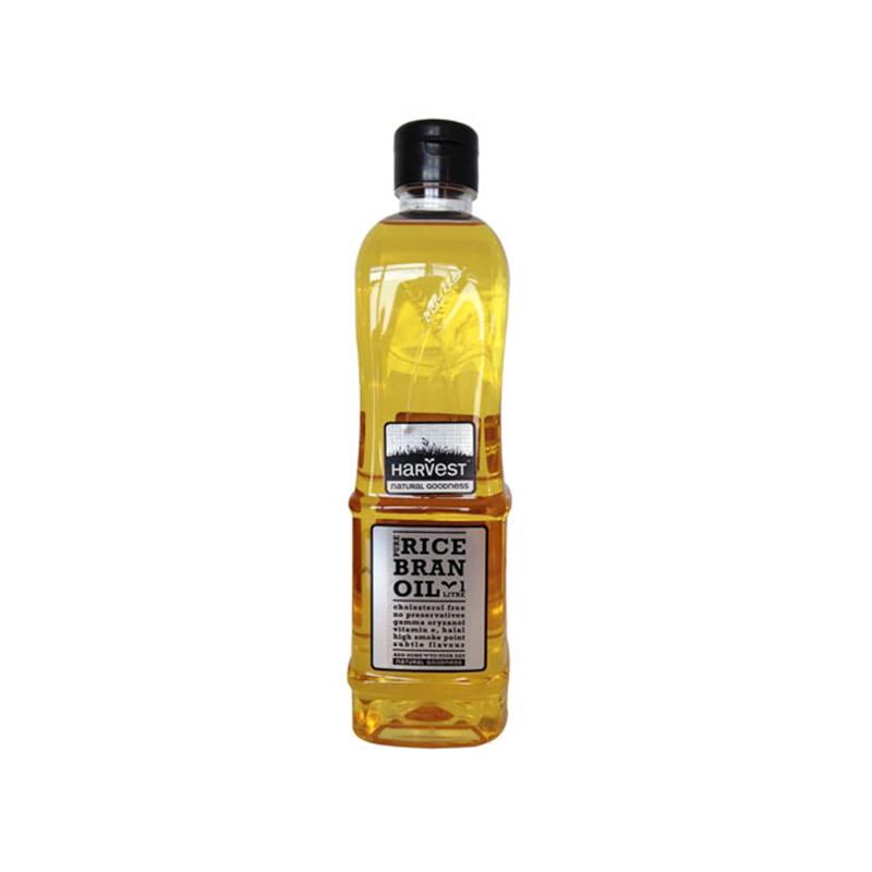 Harvest 純正米糠油 米油 1L 不含膽固醇