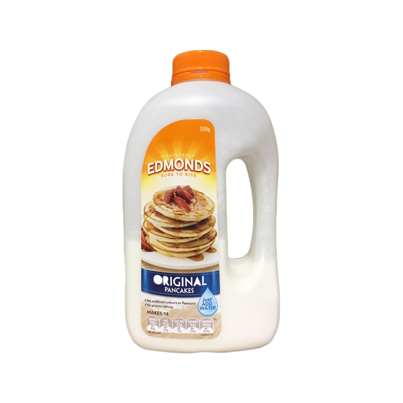 Edmonds 天然有機松餅粉 原味 350g 搖搖瓶華夫餅粉