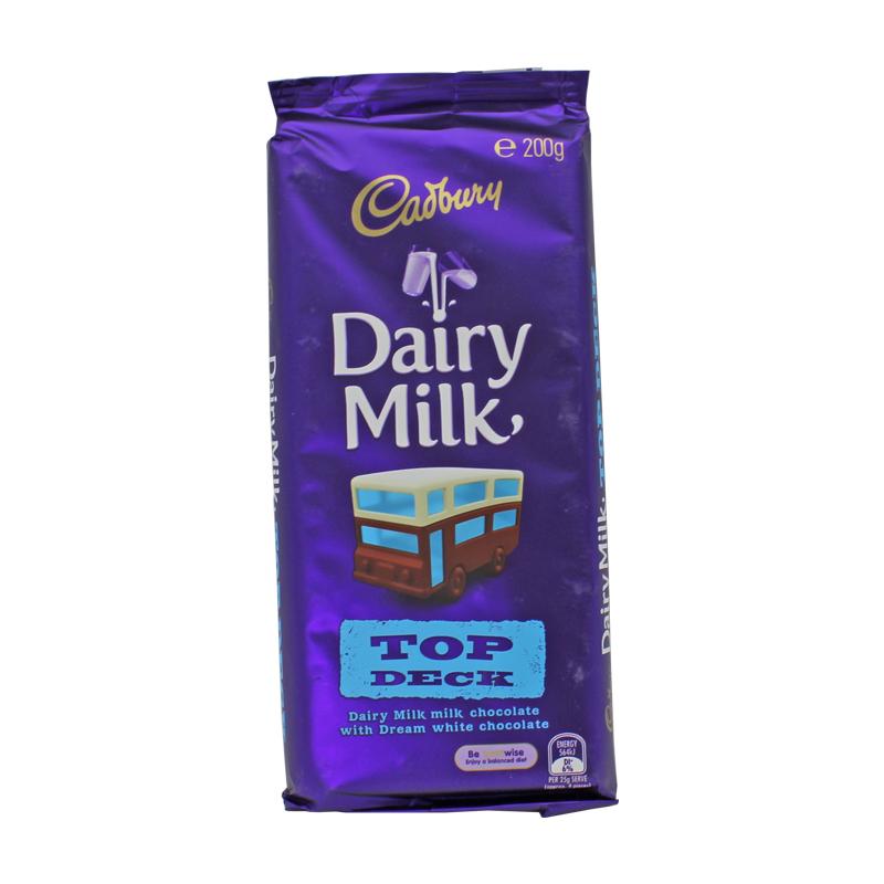 Cadbury 吉百利 超大号 天然有机丝滑牛奶巧克力 200g