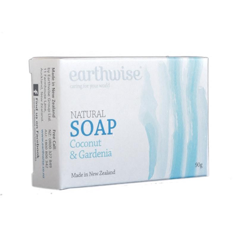 Earthwise 天然香皂 90g 椰子栀子花味