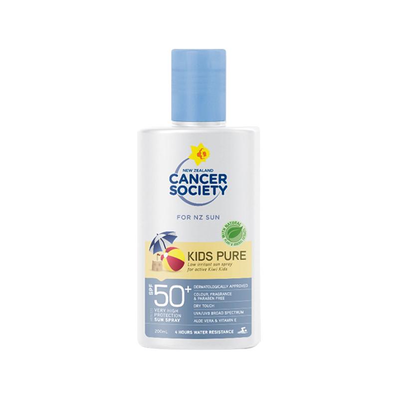 Cancer Society 兒童防曬乳液SPF50+ 200ml 天然無刺激