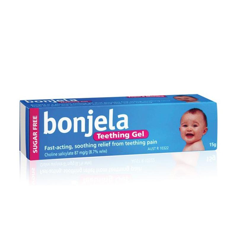 保治靈 bonjela 嬰兒出牙止痛凝膠 15克 4月以上可用 口腔潰瘍 牙膠