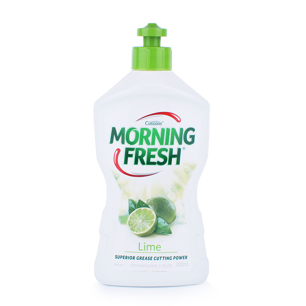 Morning Fresh 天然濃縮洗潔精 400ml 青檸味