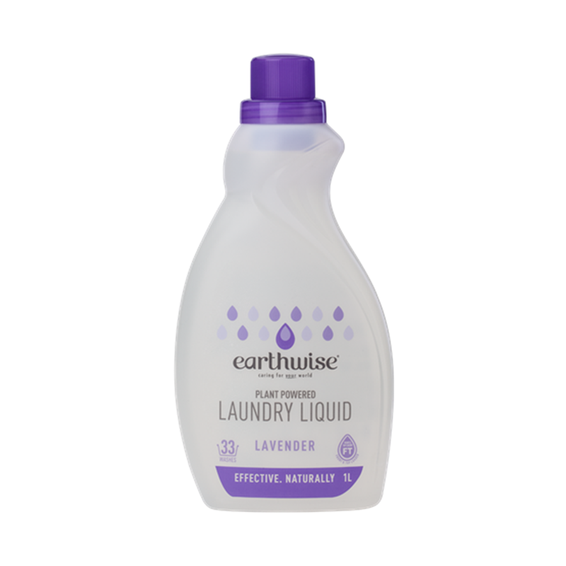 Earthwise 天然植物基底濃縮洗衣液1L 薰衣草