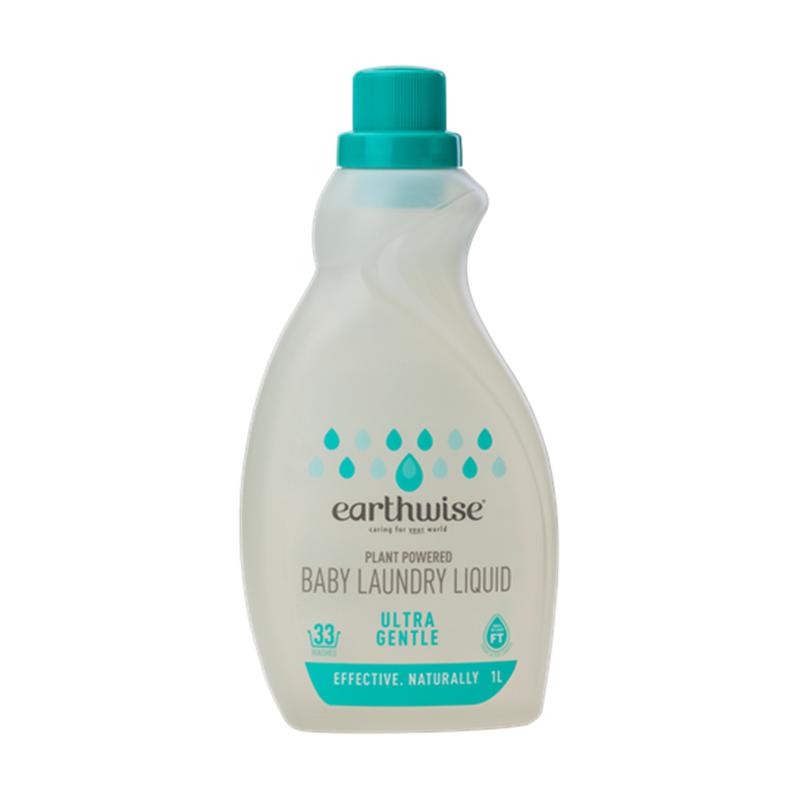 Earthwise 天然植物基底濃縮超溫和寶寶洗衣液 1L
