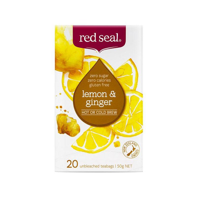 Red Seal 紅印 檸檬姜茶包 20包