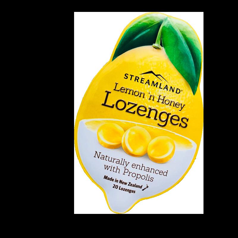 Streamland 新溪岛 柠檬蜂蜜蜂胶糖 20粒
