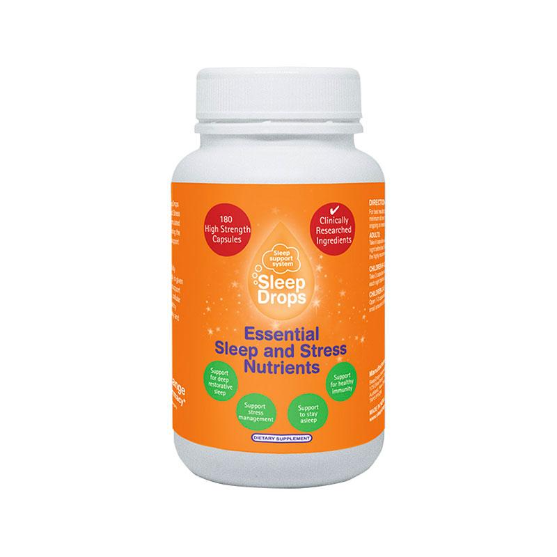SleepDrops 思乐眠 睡眠&抗压基本营养素 180粒