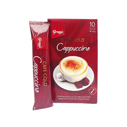 Greggs 金牌速溶咖啡卡布奇諾 10條150g 意式濃香 泡沫豐盈