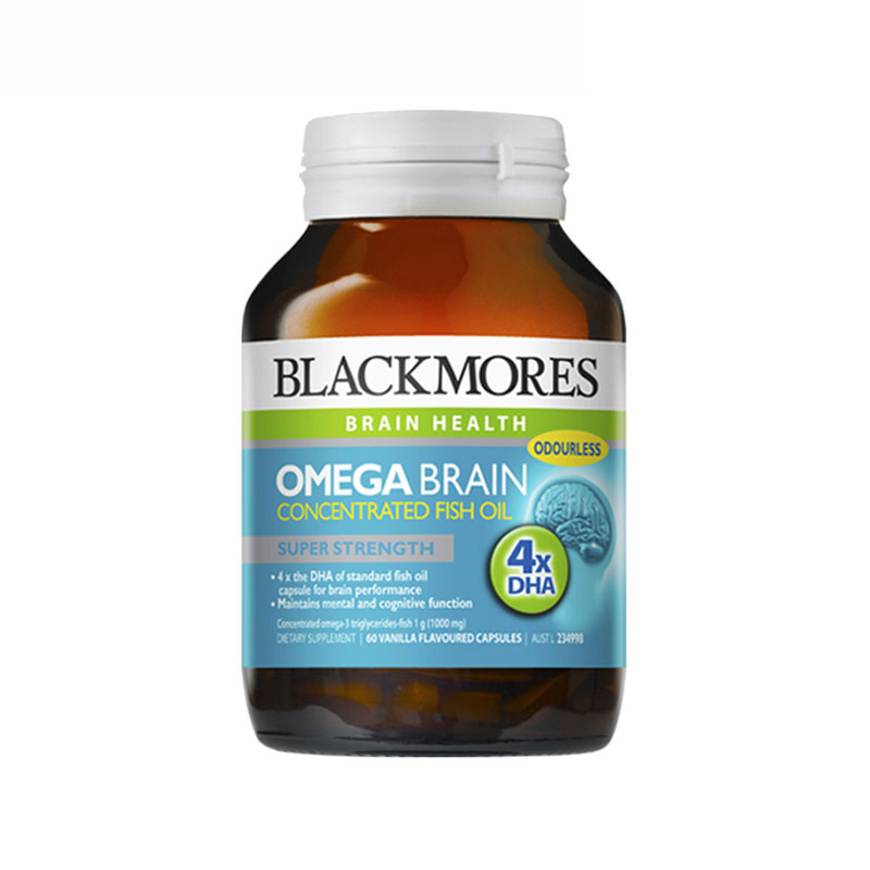 Blackmores 澳佳寶大腦保健深海魚油 60粒